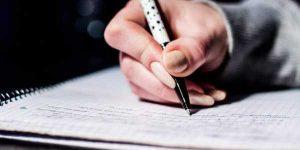 Writing IAS exams