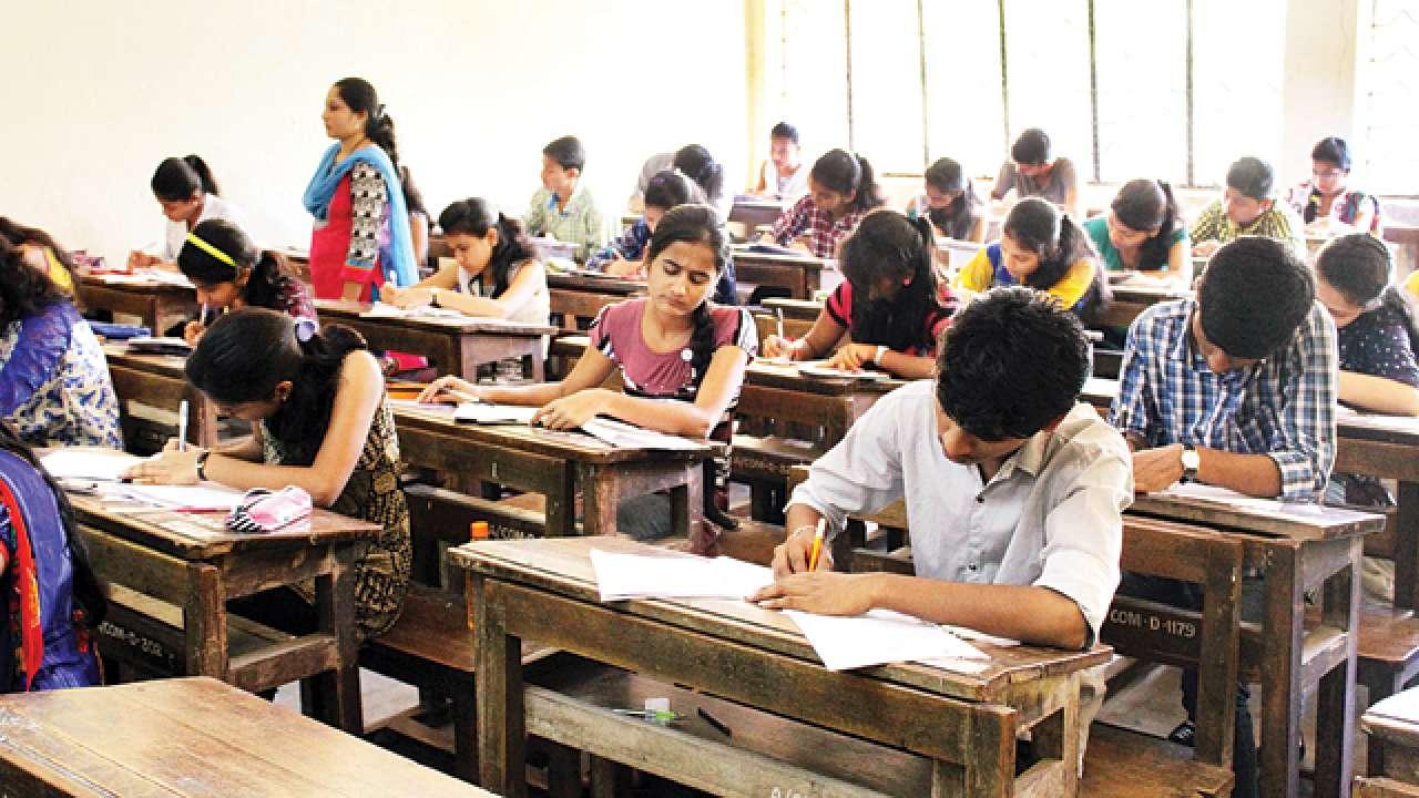 students writing UPSC civil service examination