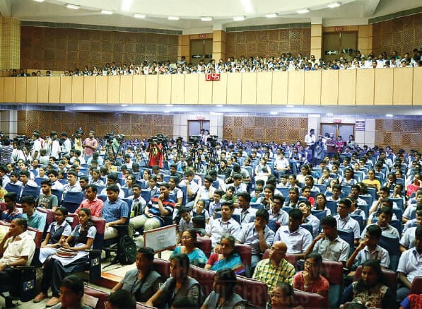 Career Guidance program conducted by chinmaya IAS academy