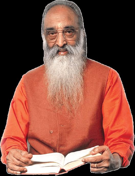 Spiritual leader - Chinmayananda Saraswati